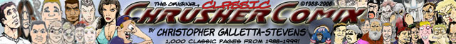 The Official Chrusher Comix website